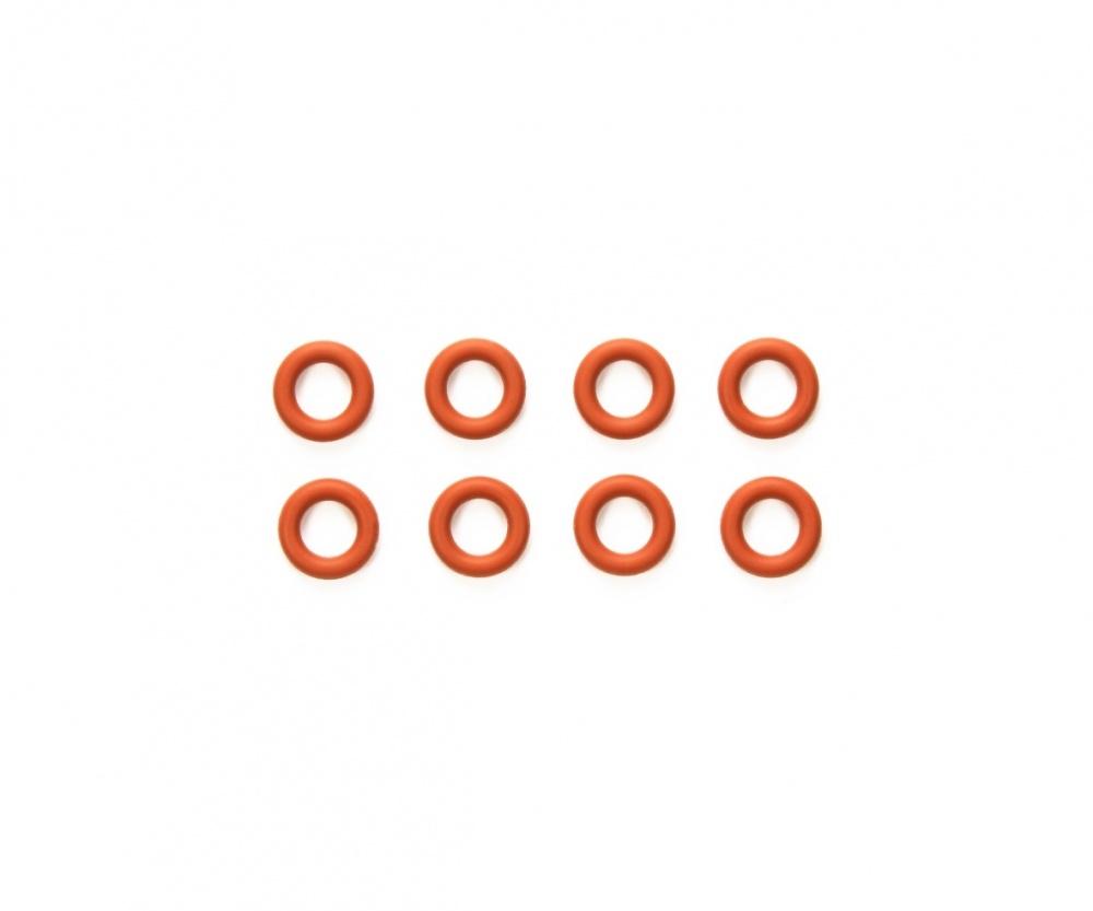 Tamiya TRF O-Ringe rot 5 mm (8) Kegeldiff. (M-07R)