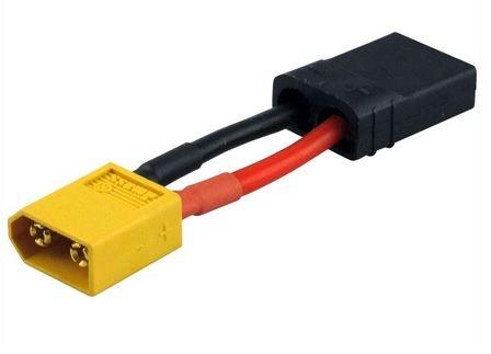 Adapter kompatibel m.XT60 Stecker <=>TRAXXAS Buchse