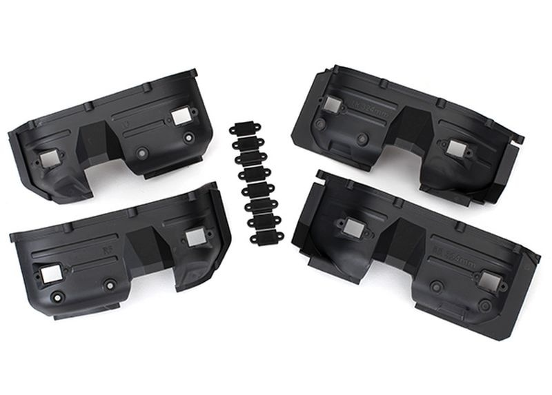 Traxxas Fender, innen, v/h (je ) Rock light covers (8) TRX-4