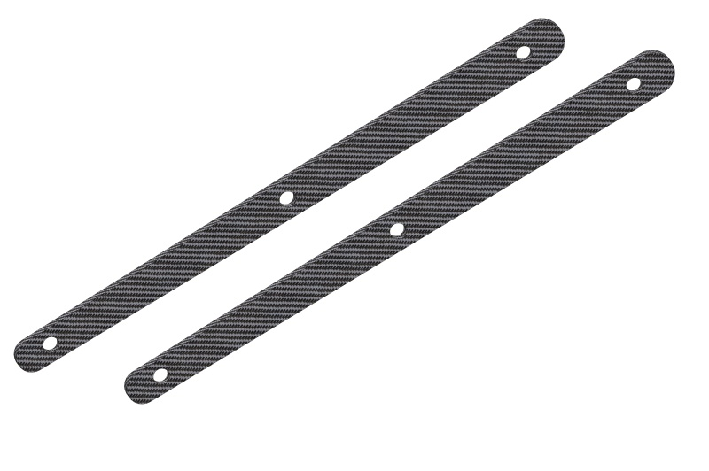 Team Corally  -  Chassis Brace Stiffener - Rear -