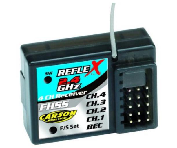 Carson Reflex-X Empfänger 2.4GHz