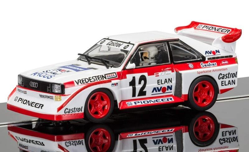Scalextric Audi Sport Quattro E2 #12 1990