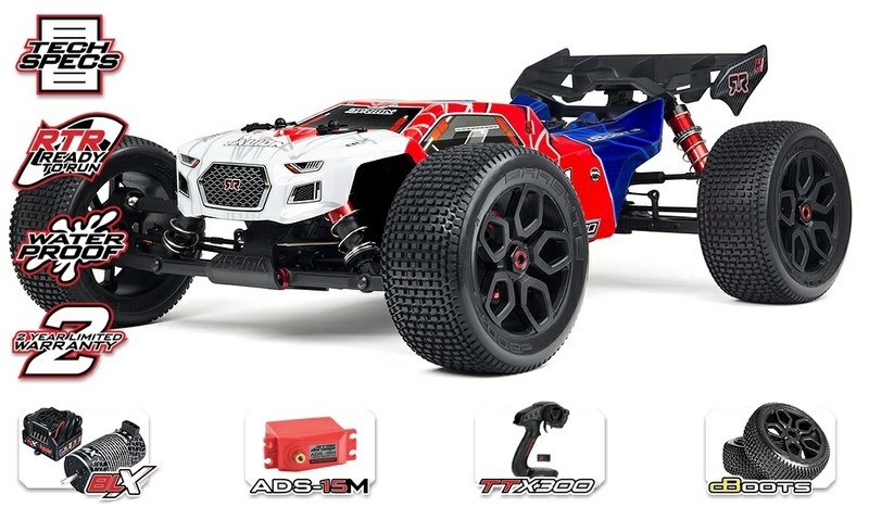 Arrma Talion 6s BLX 4WDElectric Speed Truggy 2.4GHz RTR 1:8