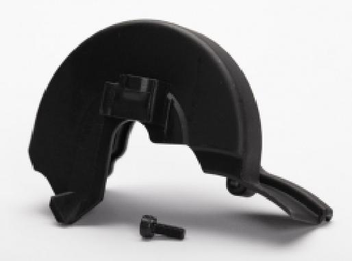 Getriebedeckel / 3x8mm CS (1) (für Einzelmotorenmontage)