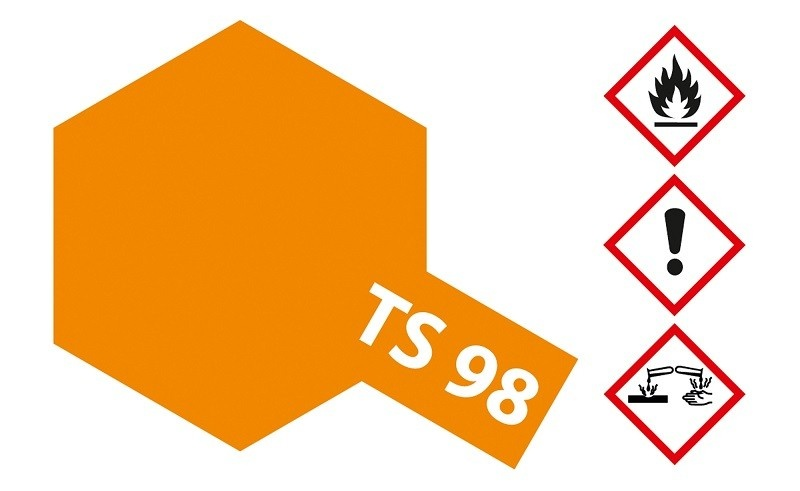 Tamiya Acryl-Sprühfarbe TS-98 Pure-Orange glänzend