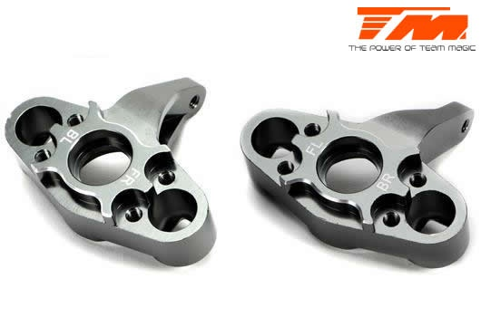 Team Magic Option Part - E5 - CNC Machined Steering Block -