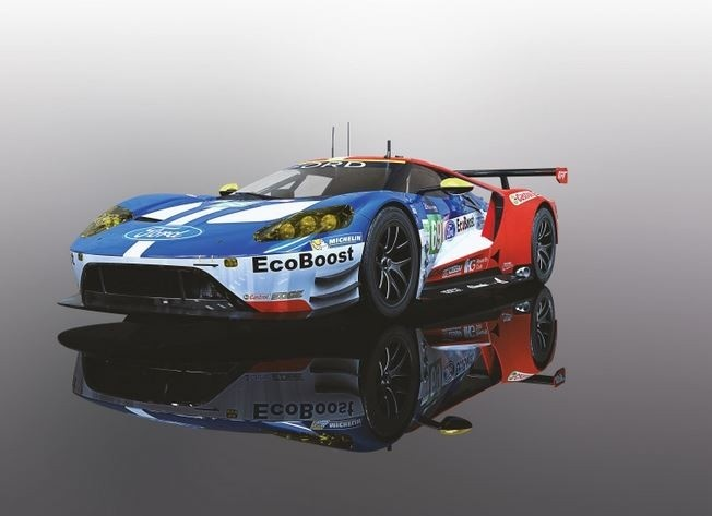 Scalextric 1:32 Ford GT-GTE #69 USA LeMans 2017