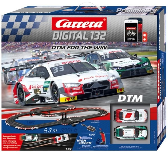 Auslauf - Carrera Digital 132 DTM - For the Win