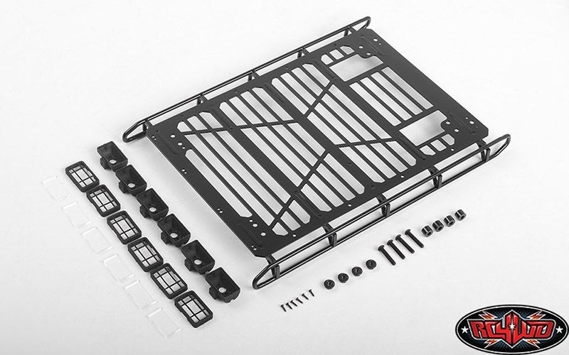RC4WD Adventure Roof Rack w/Front and Rear Lights