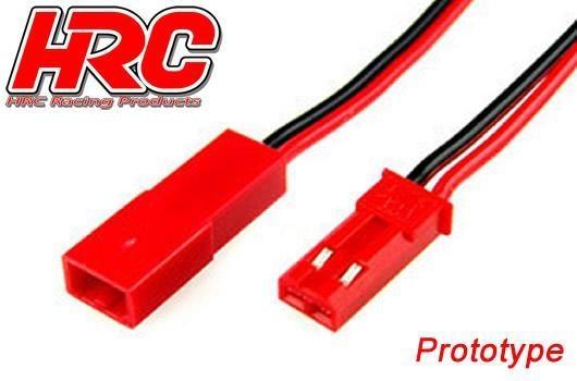 HRC Verlängerungs Kabel - 22AWG - 20cm - BEC