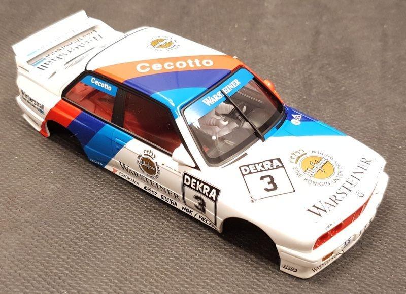 Karosserie 1:32 AutoArt BMW M3 (E30) DTM 1991 Warsteiner