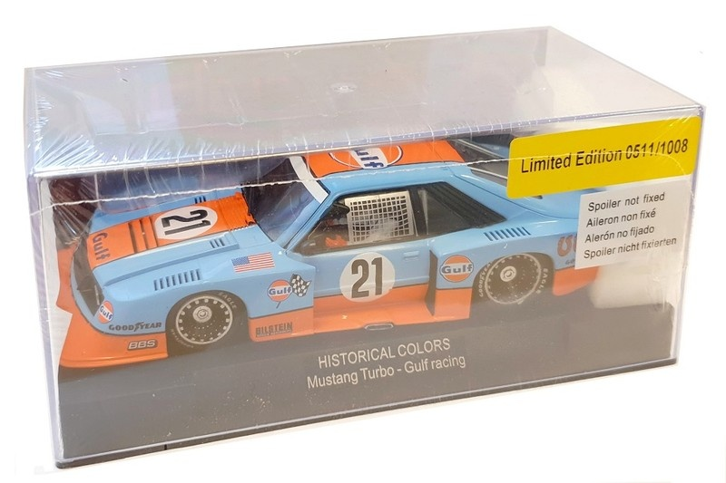 Sideways Mustang Turbo - Gulf Racing - Historical Colors