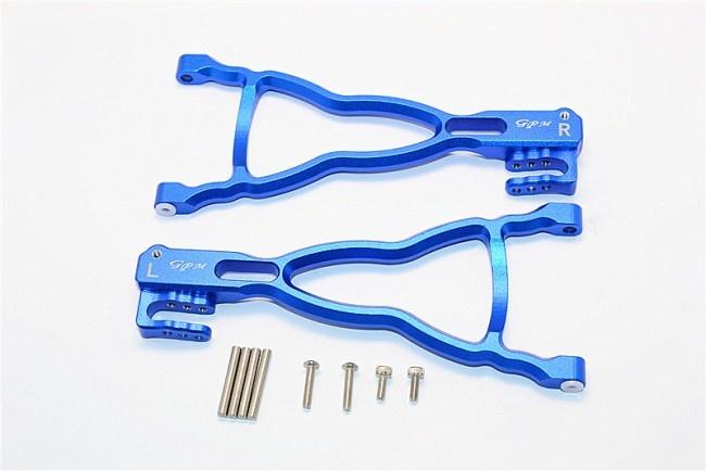 GPM aluminium rear lower suspension arm - 1PR Set (for
