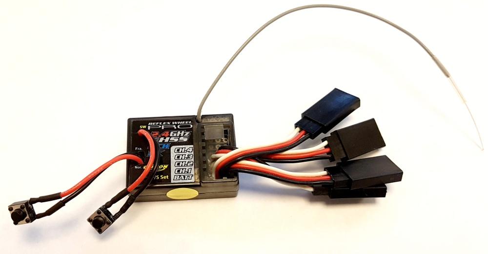 Carson Empfänger waterproof Reflex Wheel Pro 2.4GHz II