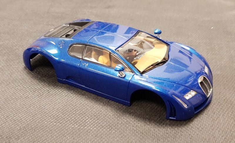 AutoArt Karosserie 1:32 Bugatti EB 18.3 Chiron (Blue)