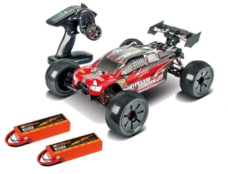 Carson Virus Pro 4.0 Truggy BL 2.4GHz RTR 1:8 --SPARSET--