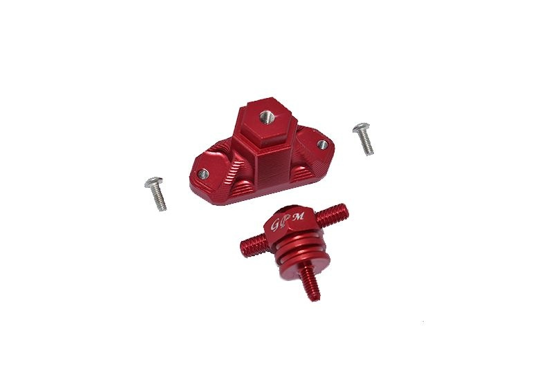 GPM Aluminum Spare Tire Support Mount + Spare Tire Locking
