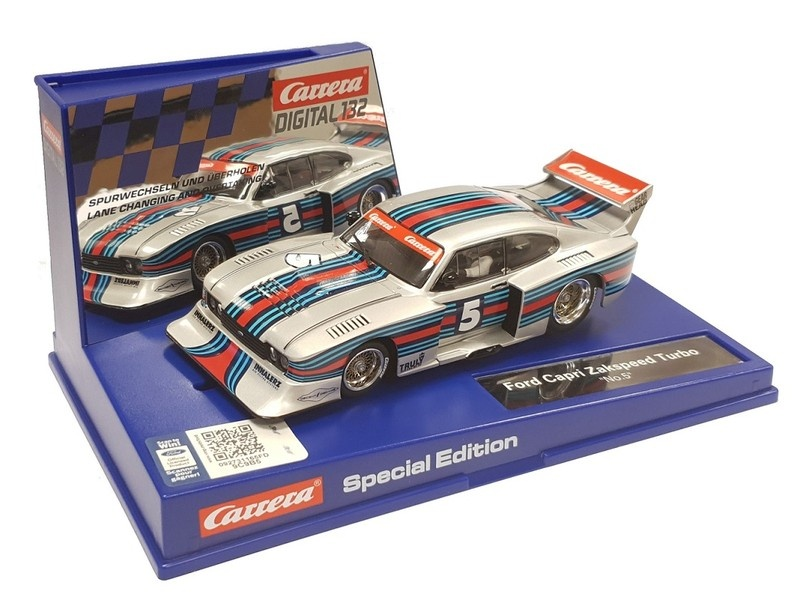 Carrera Digital 132 Ford Capri Zakspeed Turbo No.5