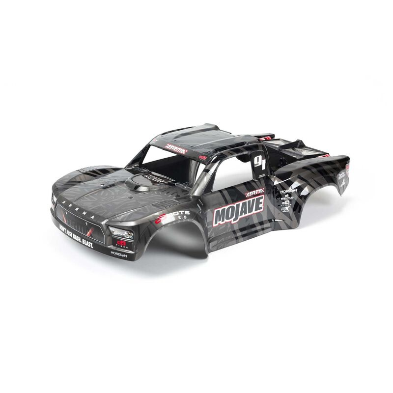 Arrma Finished Body, Black: MOJAVE 6S BLX 1:7