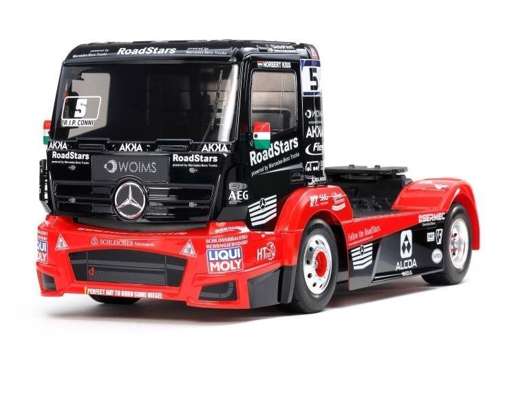 Tamiya RC 1:14 RC M-B Race Truck Actros MP4 TT-01E