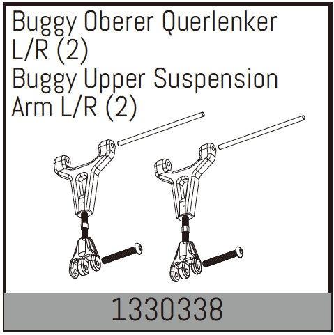 Absima Buggy Oberer Querlenker L/R (2)
