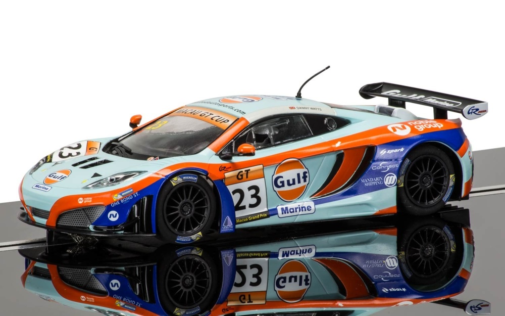 Scalextric McLaren 12C GT3 Gulf #23