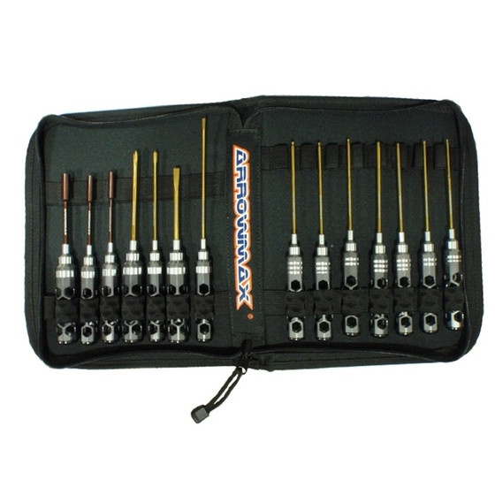 Arrowmax Honeycomb Toolset (14Pcs) With Tools bag