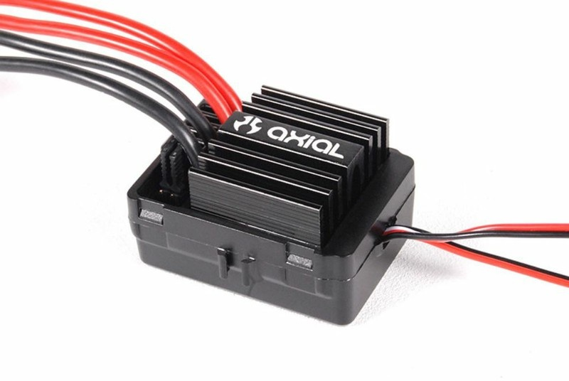 Axial AE-5 Waterproof ESC w/Reverse + Drag Brake