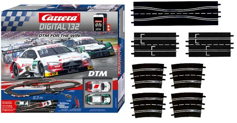 Carrera Digital 132 DTM - For the Win  --SPARSET 2--