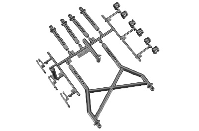 Axial - Body Mounts Parts Tree