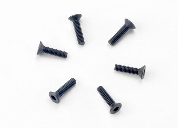 Traxxas 2,5x10mm Senkschraube (6)