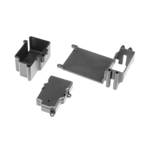 Tekno RC TKR9065 - Servo Mount, ESC tray, RX Box