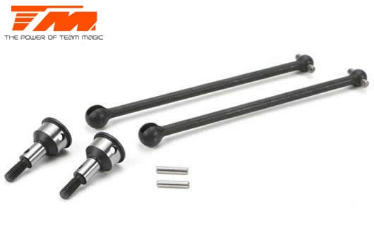 Team Magic Spare Part - E5 - Universal Driveshaft (2 pcs)