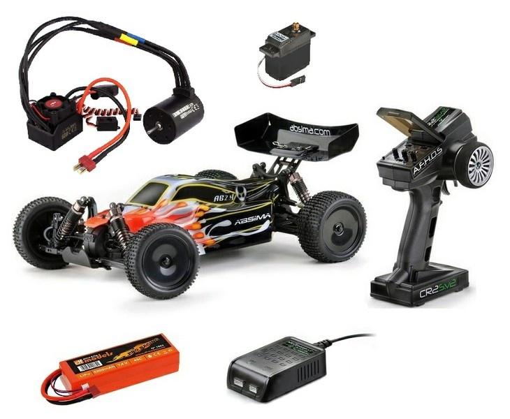 Absima EP 4WD Buggy AB2.4KIT Bausatz 1:10 --SPAR-SET--