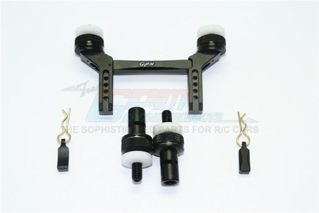 GPM aluminium front & rear magnetic body mount - 5PC Set for