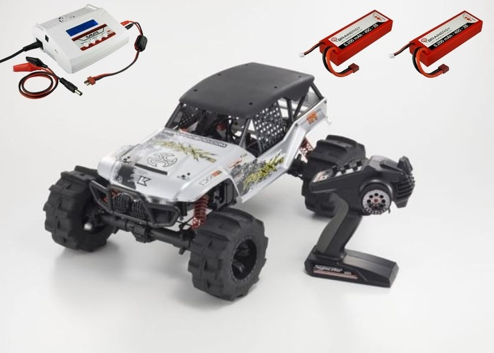 Kyosho FO-XX VE EP 4WD (KT231P) 2.4GHz  RTR 1:8 -SPARSET1-