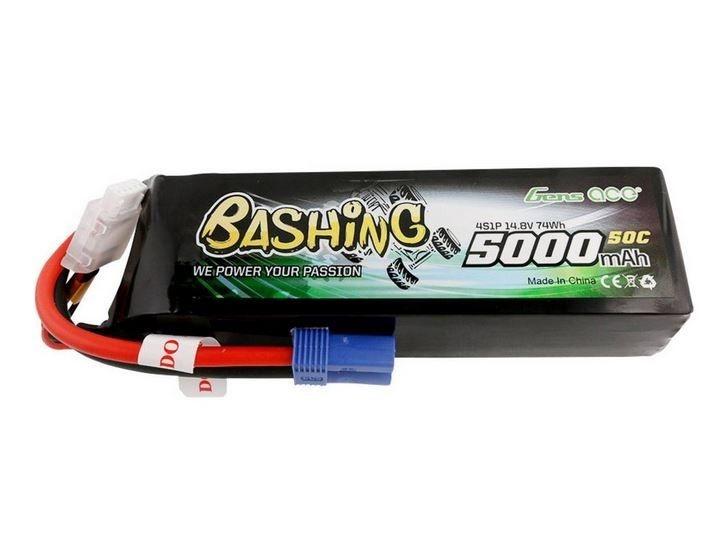 Gens ace 5000mAh 14.8V 50C 4S1P LiPo Akku mit EC5 Plug