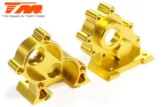 Team Magic E6 III - Aluminium Gold eloxiert -
