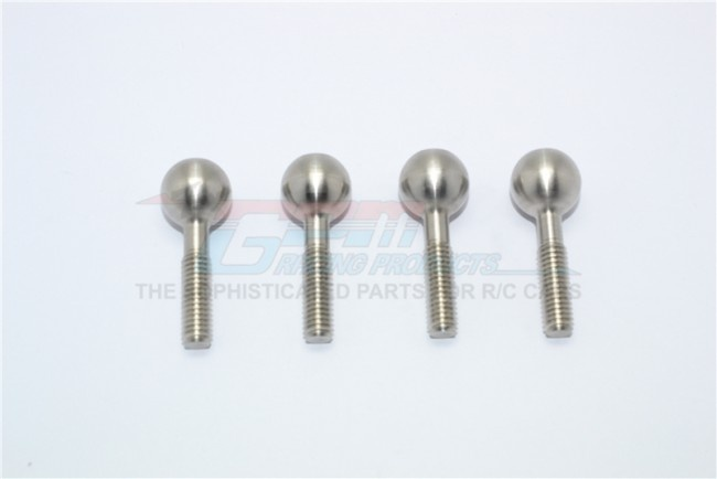 GPM stainless steel pillow ball for front knucklearms - 4PC