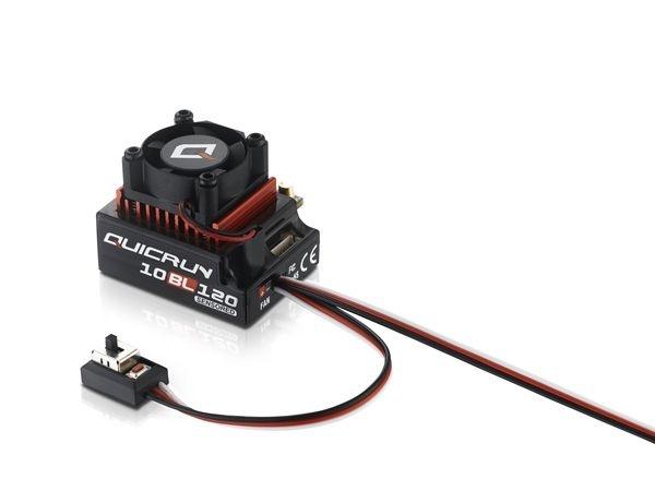Hobbywing QuicRun 10BL120, 120A, 1:10 ESC Sensored