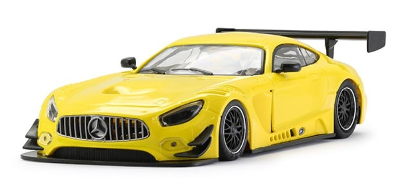 NSR - Mercedes-AMG - Test Car yellow -  AW King 21