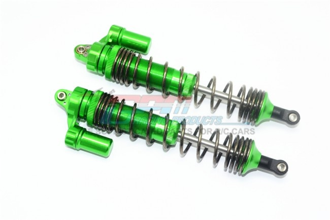GPM aluminum front L-Shape spring damper (135mm) - 2PC Set