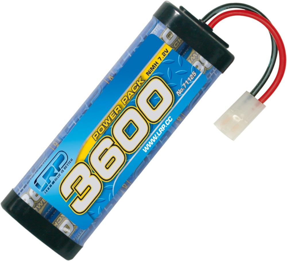 LRP Power Pack 3600 7.2V 6-Zellen NiMh Stickpack