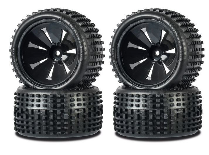 Carson Monster OFF-Road Wheel Set Big PIN 1:10 (4)