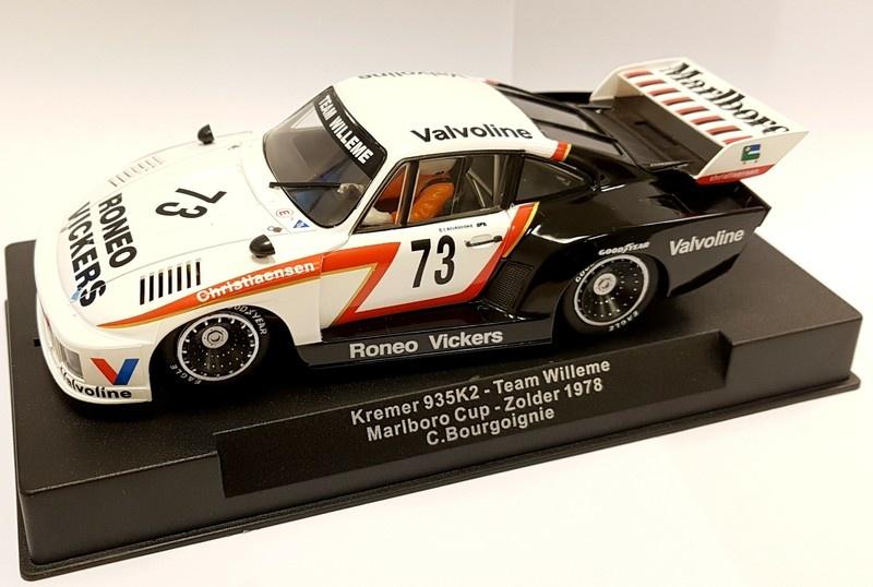 Sideways Porsche Kremer 935K2 Team Willeme #73