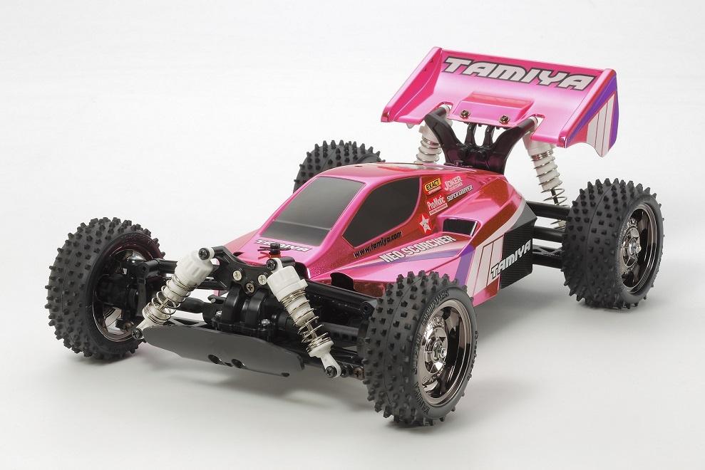 Tamiya RC Neo Scorcher 4WDOffroad-Buggy pink