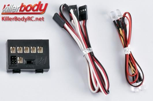 Killerbody Lichtset - 1:10 Scale - LED