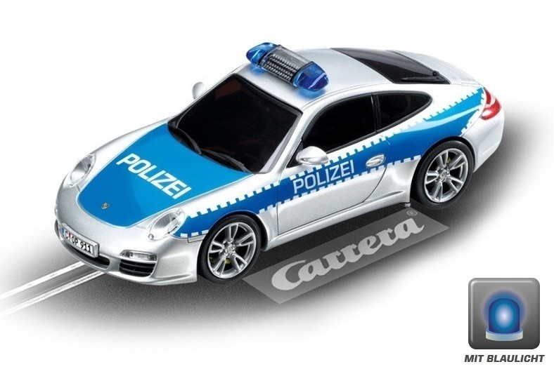 Carrera Evolution Porsche 911 Polizei --LOSE--