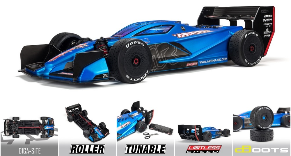 Arrma 1/7 LIMITLESS All-Road Speed Bash: Roller (ARA109011)