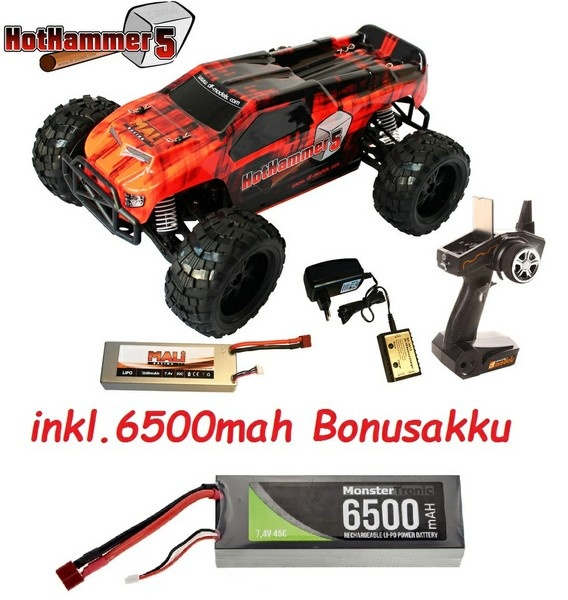 DF-Models HotHammer 5 1:10XL Line 4WD BL Buggy 2.4GHz RTR